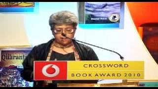 Vodafone Crossword Book Award - Jury member Sampurna Chattarji