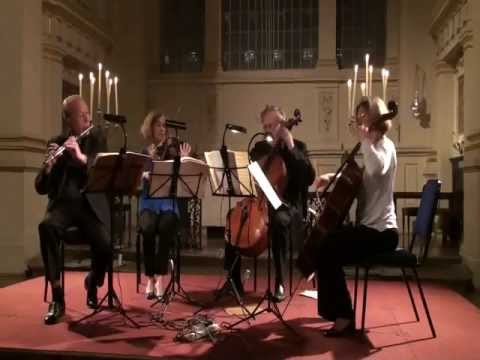Bach Art of Fugue played by William Bennett flute and London Octave