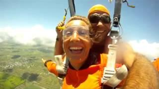 Skydiving Mauritius Louisa