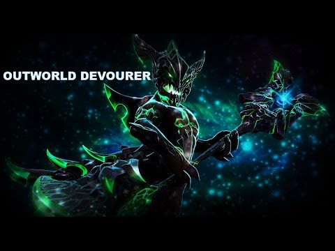 Dota 2 GAMER plays Outworld Devourer Orbs of Pain