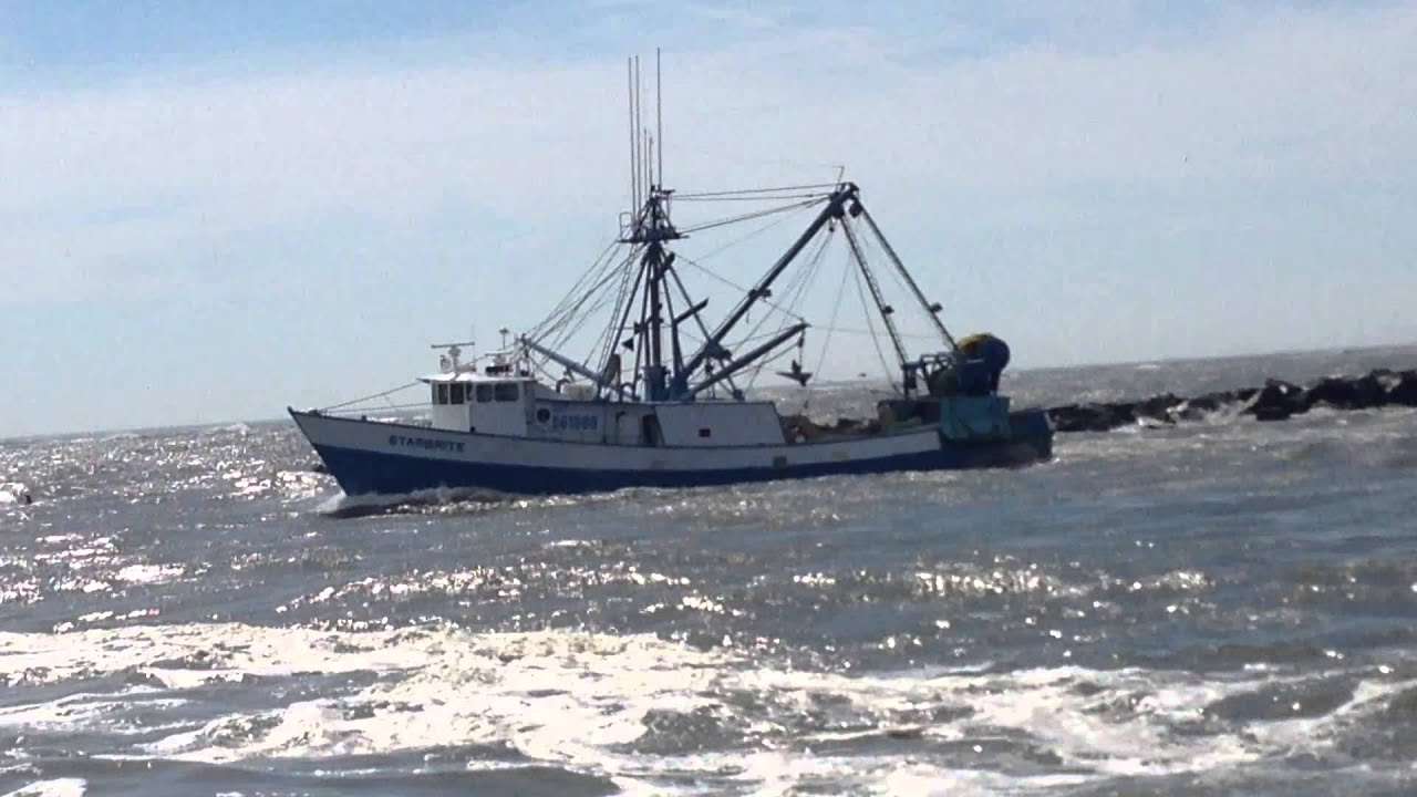 Fishing boat leaving the ocean city maryland inlet 2 youtube for Maryland boat fishing license