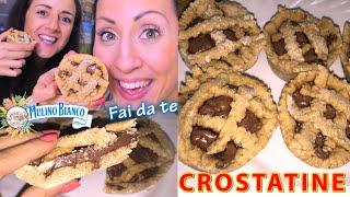 CROSTATINE MULINO BIANCO con NUTELLA Light!!! | Carlitadolce Cucina