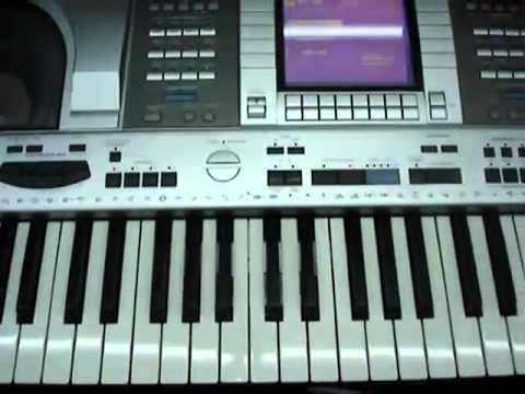 Technics KN-2600 Dgn Contoh Style / Rhythm Dangdut &Pop