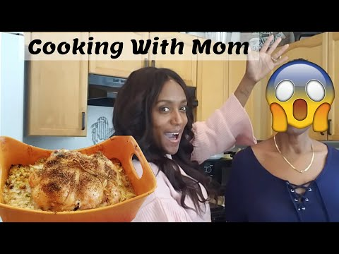 Cooking With My Mom : Stuffed Chicken and Stuffing / Deboning a Chicken / Come cook with me