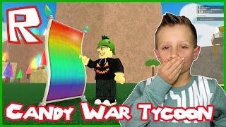 Lets Eat einige Süßigkeiten in Candy WAR Tycoon / Roblox