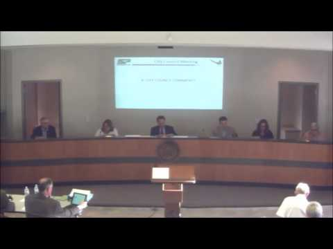 August 29, 2016 City Council Meeting