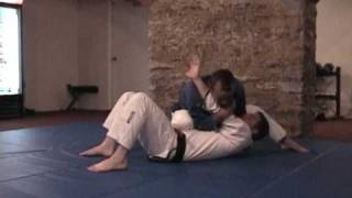 Knee on Belly Armlock