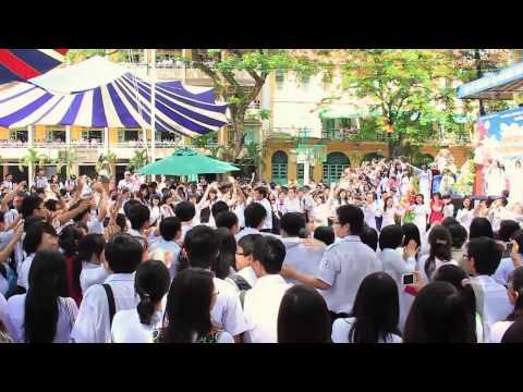 [Official Clip] 09-12 Year-end Flashmob - THPT Chuyên Trần Đại Nghĩa - 21.05.2012