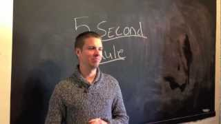 The New 5 Second Rule - How To Get Things Done