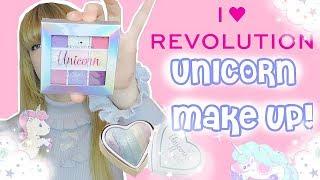 I 💝 Revolution UNICORN MAKE UP!