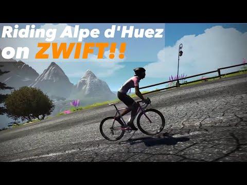 Riding Alpe du Zwift -  Is it like the real Alpe d'Huez?