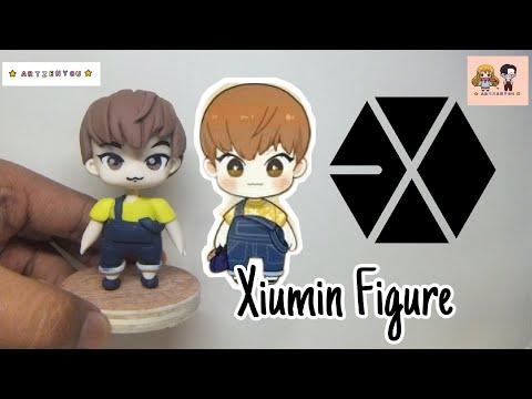 Xiumin from EXO (EXO ) | Clay Art | figure - Clay Tutorial