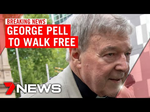 BREAKING: George Pell To Walk Free From Prison After Abuse Conviction Quashed  | 7NEWS