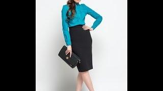 Купить блузку в интернете.  Модная женская блузка Pompa