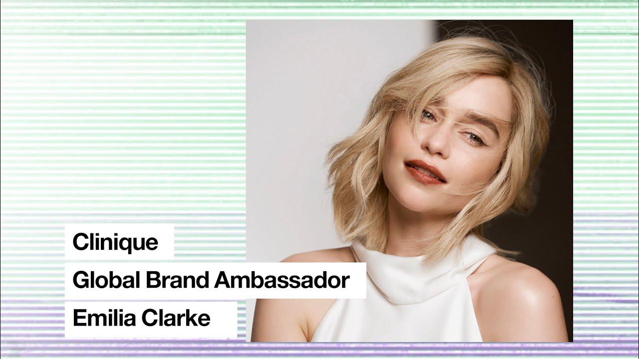 Clinique LIVEstream I Get ready with Global Brand Ambassador Emilia Clarke
