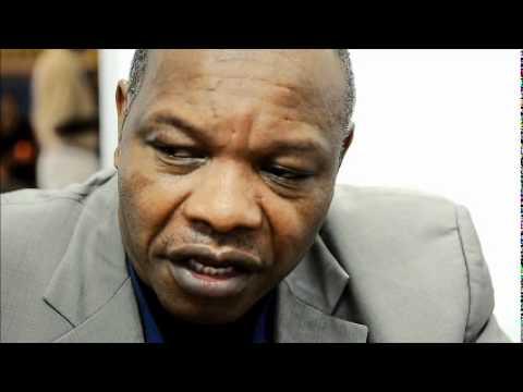 Karikoga Kaseke Chief Executive of Zimbawe Tourism @ Indaba 2011