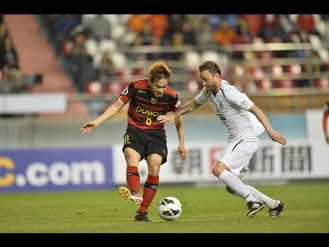 Pohang Steelers vs Bunyodkor: AFC Champions League 2013 (Group Stage MD6)
