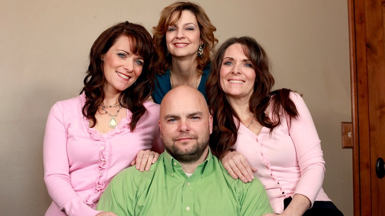 twin sisters and cousin share the same husband - youtube