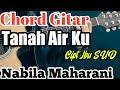 Chord Gitar  Tanah Air Ku - Nabila Maharani  Cipt Ibu Sud - Lagu Nasional