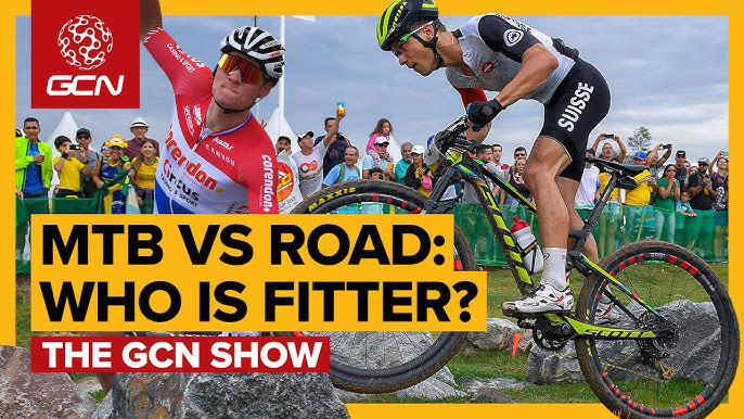 76b2902a65c Mountain Bike Vs Road: Who Is The Fittest? | GCN Show Ep. 333
