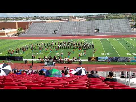 "Medina Valley High School 2017 marching band ""Are We There Yet"""