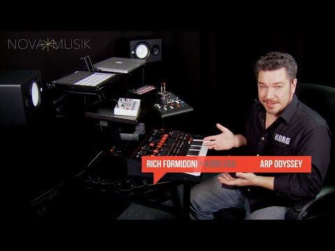 Nova Musik - Korg ARP Odyssey with Rich Formidoni