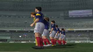 J.League Winning Eleven 6 gameplay (ps2 emulator)