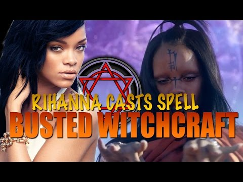 BUSTED!! Rihanna is a WITCH - Sledgehammer EXPOSED!! MUST SEE + SHARE!!