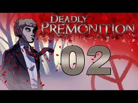 Deadly Premonition: The Director's Cut Gameplay Walkthrough Part 2 - Meet the Cast