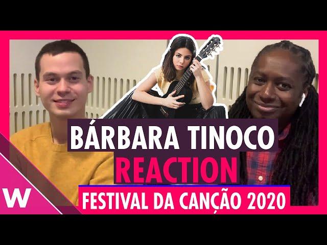 Bárbara Tinoco - Passe-Partout REACTION | Festival da Canção (Portugal Eurovision 2020)
