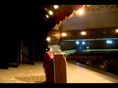 Complementary Therapies - Dr Vasantha Amma Speech Diabetes Event