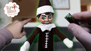 ELF ON THE SHELF TURNS INTO ZOMBIE AT 3 AM!! *HE CAME BACK TO LIFE*