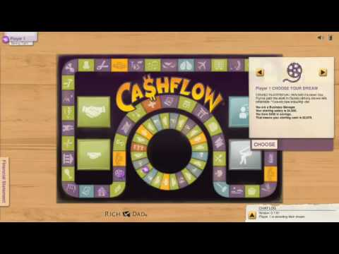 Rich Dad Poor Dad Cashflow Android Game