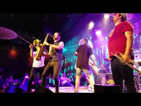 Lucky Chops Live at SPACE Evanston, IL- Funky Town/I Feel Good