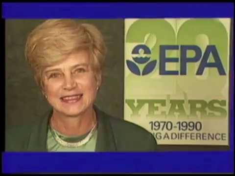 US Environmental Protection Agency (EPA) 20th Anniversary Celebration 1990 EPA