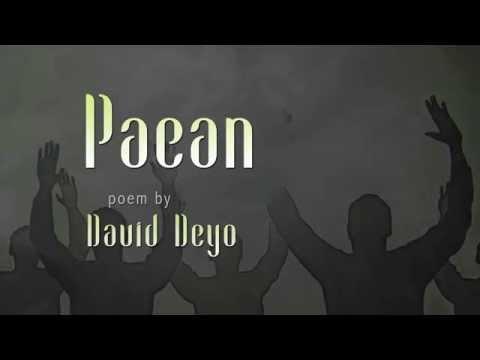 """""""Paean"""" a poem by David Deyo"""