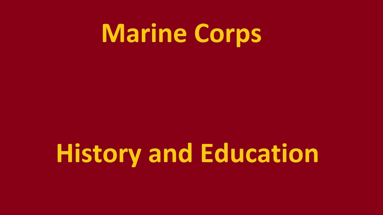 Marine Corps HIstory and Education: Enlisted Ranks - YouTube