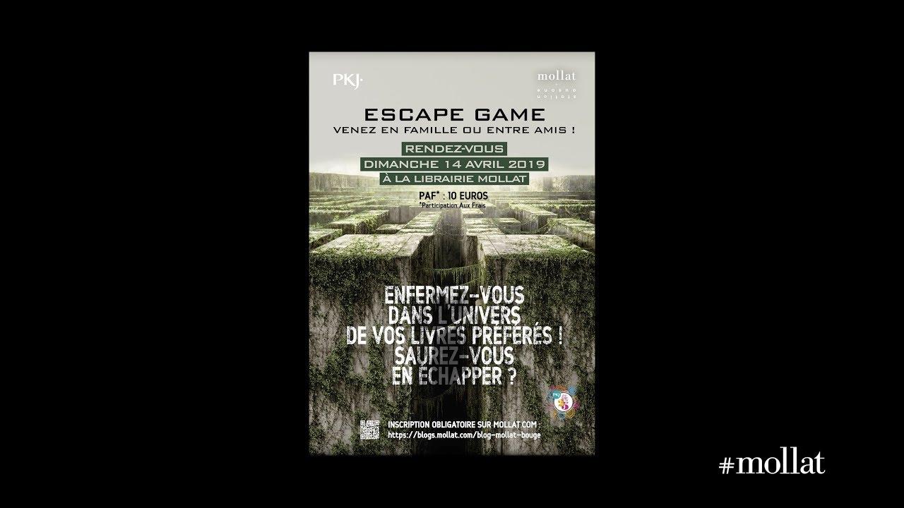 Escape Game 2 Librairie Mollat Bordeaux