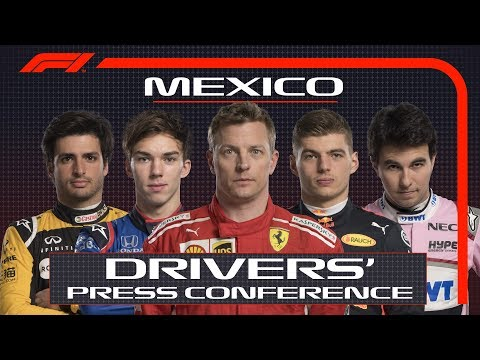 2018 Mexican Grand Prix: Press Conference Highlights