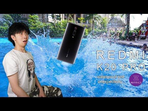 Redmi K20 Pro Waterproof Test