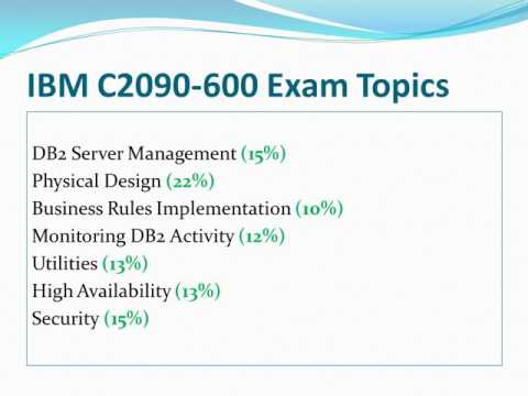 Pass Test C2090-600 IBM DB2 11 With Passtcert IBM C2090-600 Real Dumps