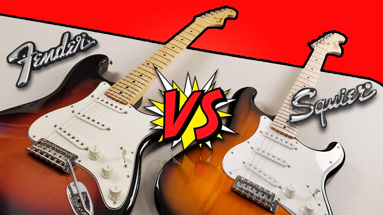 Fender Player VS Squier Affinity - Stratocaster Tone Comparison (Giveaway Winner Announcement)