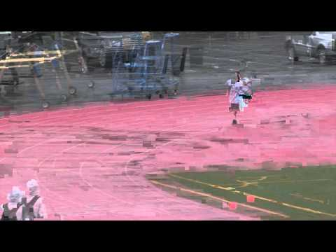 2011 SMHS Track - Men's 3200 meters intra-squad time trial in the rain