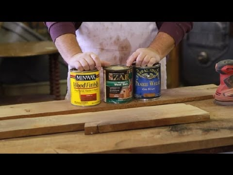 How To Restain Old Wood Furniture Repair Tips Youtube