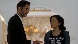 Lucifer 3x06 Ella & Luci in Second Crime Scene in a Masion Season 3 Episode 6 S03E06