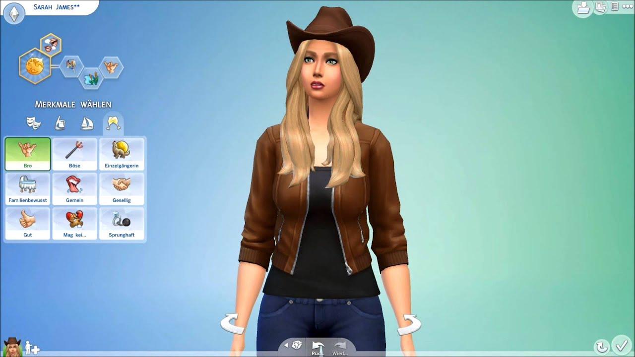 Let's Play Die Sims 4 Erstelle Einen Simdemo  Youtube