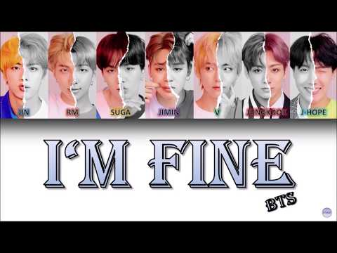 BTS (방탄소년단) – I'M FINE German Lyrics [Han/Rom/Ger]