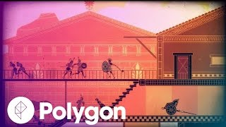 Throwing a Spear at Apollo's Butt in Apotheon - Gameplay Overview