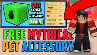 WIE GET FREE MYTHICAL PET ACCESSORY CRATES IN ROBLOX MINING SIMULATOR