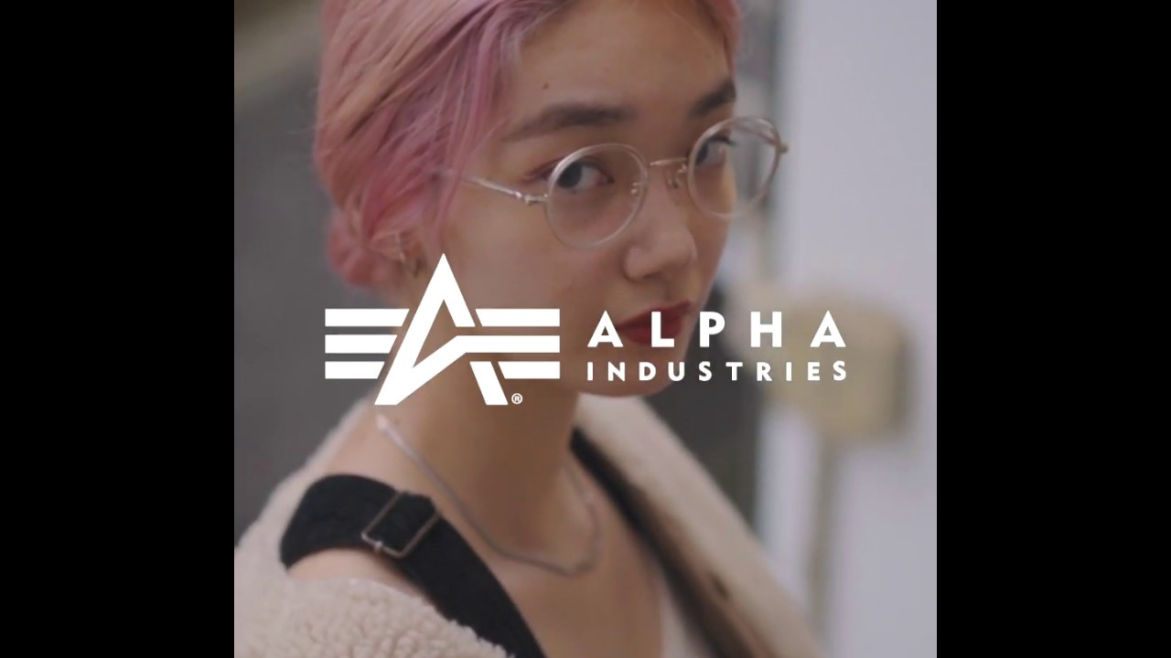 【Fashion Movie】ALPHA INDUSTRIES